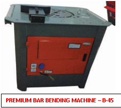 Premium Bar Bending Machine B45