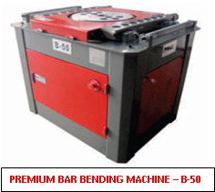 Premium Bar Bending Machine B50