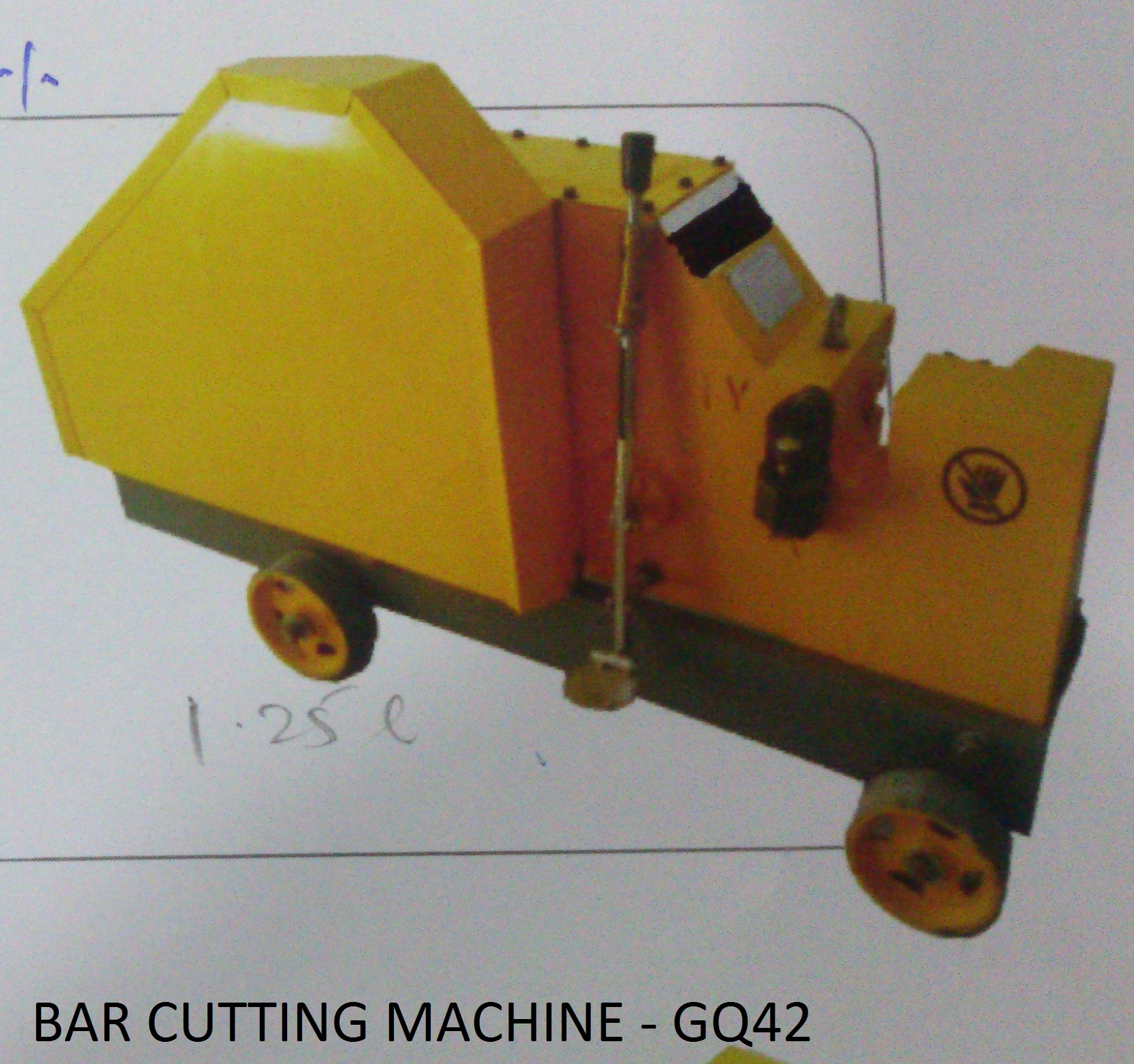 Bar Cutting Machine GQ42